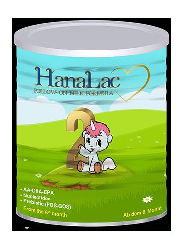 Hanalac 2 infant milk formula for baby 6-12